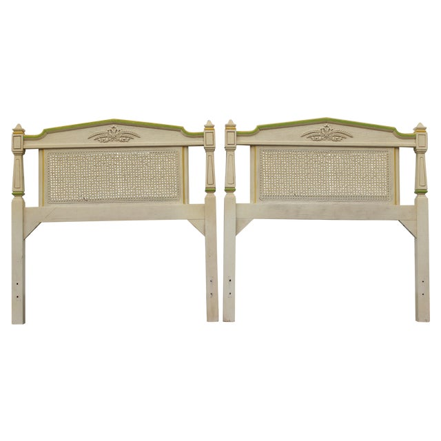 Stanley Furniture Twin Headboards - Pair - Image 1 of 11