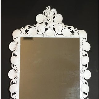 Organic Modern Iron Sea Shell Mirror Preview