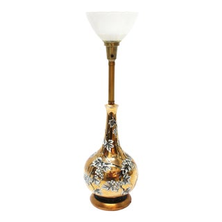 Torchiere Art Deco Style Lamp For Sale