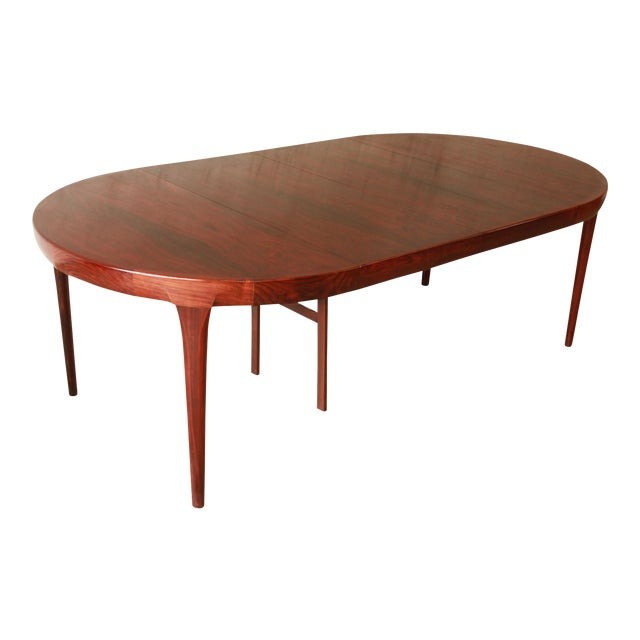Ib Kofod Larsen Rosewood Extension Dining Table For Sale