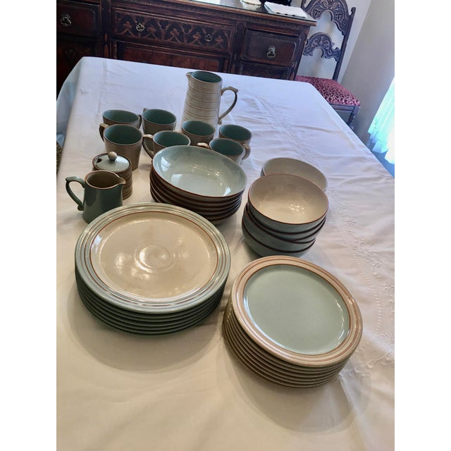White Denby Heritage Dinnerware For Sale - Image 8 of 10