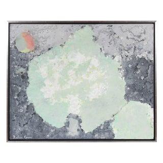 "Gaétan Caron ""Winter Solstice"", Lichen Study, Abstracted Nocturnal Landscape in Oil, 2017 2017 For Sale"