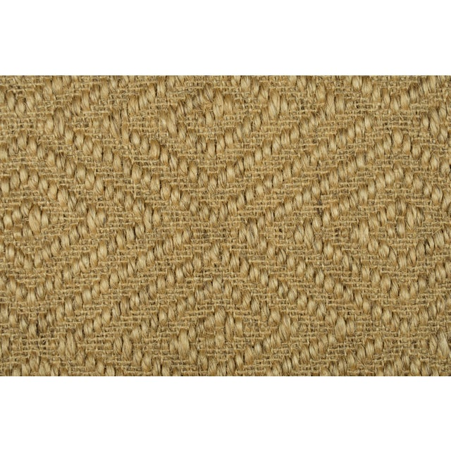 "Stark Studio Rugs Stark Studio Rugs, Pueblo, Seagrass, 2'6""x12 For Sale - Image 4 of 4"