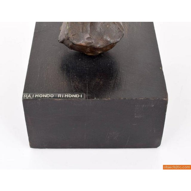 Raimondo Rimondi Bronze Sculpture - Image 7 of 8