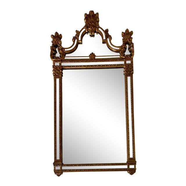 1960s Vintage Large Hollywood Regency La Barge Gold Mirror For Sale