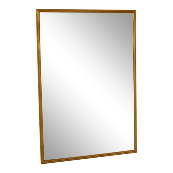 Large Gold Framed Mirror | Chairish
