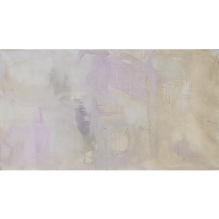 """Sweet Dreams"" by Trixie Pitts Large Neutral Abstract Oil Painting For Sale"
