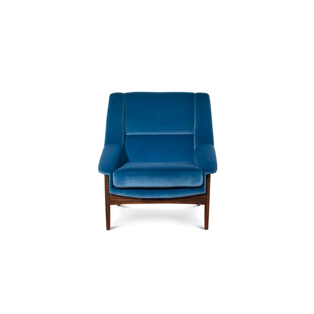 Wood Covet Paris Inca Armchair For Sale - Image 7 of 7
