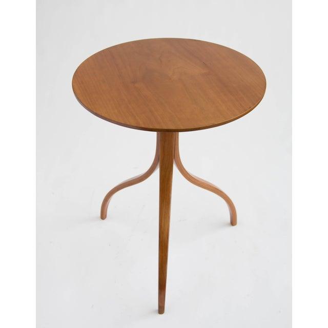 Spider Leg Walnut Side Table - Image 5 of 8