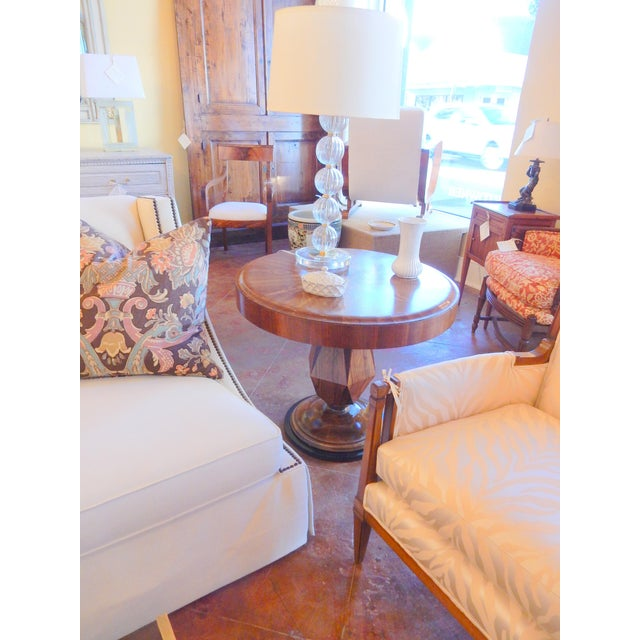 Unusual Inlaid Art Deco Table For Sale In New Orleans - Image 6 of 7