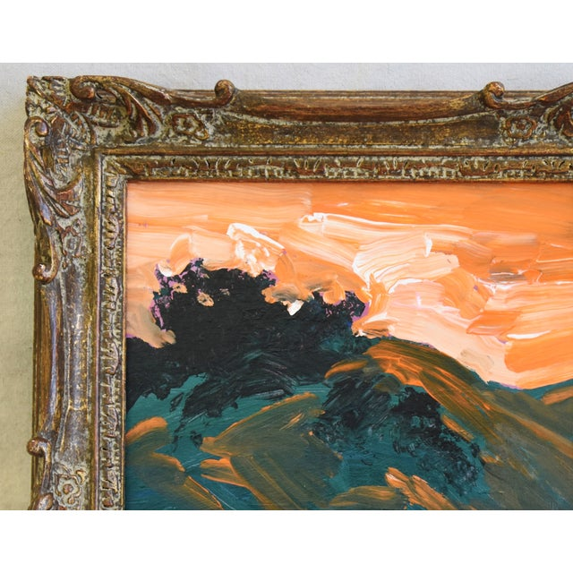 Expressionism Juan Pepe Guzman Ojai California Landscape Oil Painting For Sale - Image 3 of 9
