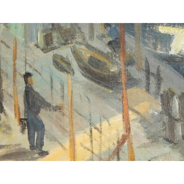 Roudens Maroselli Oil on Canvas For Sale In New York - Image 6 of 8