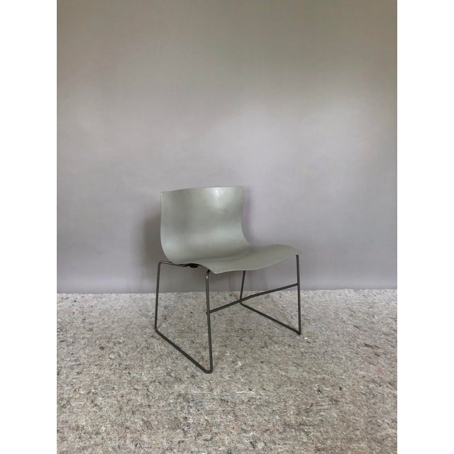 """Contemporary Massimo Vignelli for Knoll """"Handkerchief"""" Chairs - Set of 4 For Sale - Image 3 of 12"""