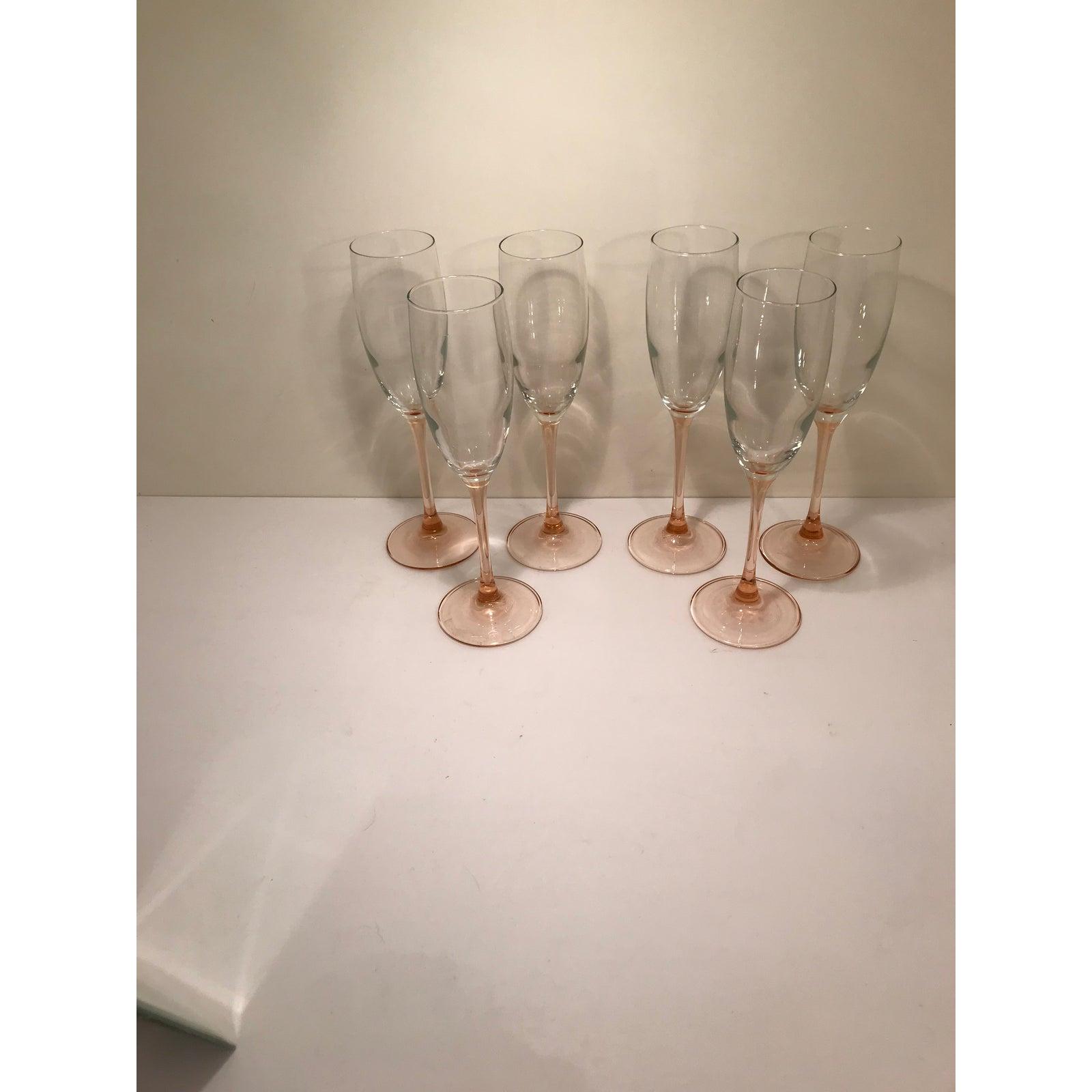 olga cassini long stem champagne flutes - HD1600×1600