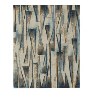 ModernArt - Customizable Merlebleu Rug (9x12) For Sale