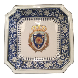 """Chateau de Versailles"" Hand Painted China Dish"
