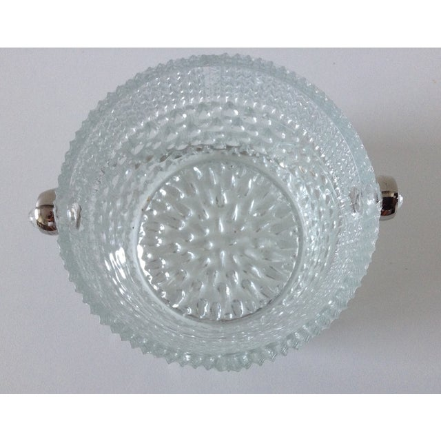Mid 20th Century Mid-Century French Glass Teardrop Ice Bucket For Sale - Image 5 of 6