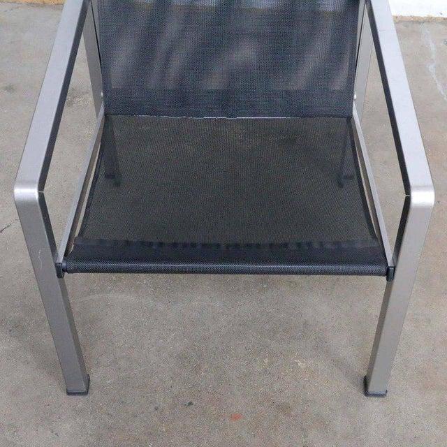 Giuseppe Raimondi Design Modern Aluminum Cube Chairs For Sale - Image 11 of 13