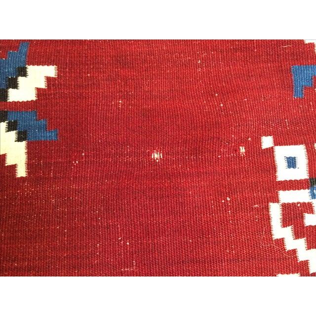 Vintage Southwest Saltilo Serape Rug - 4′10″ × 6′8 - Image 10 of 10