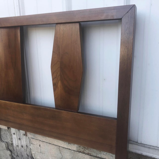 1960s Mid-Century Twin Size Headboard For Sale - Image 5 of 13