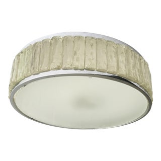 Atelier Perzel Round Flush Mount For Sale