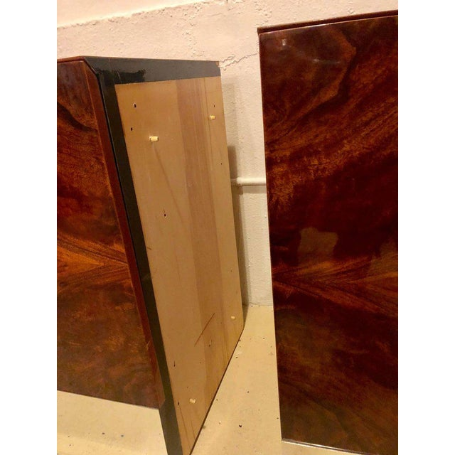 Monumental Sideboard of Chrome and Burl Wood by Pace Collection For Sale - Image 10 of 12