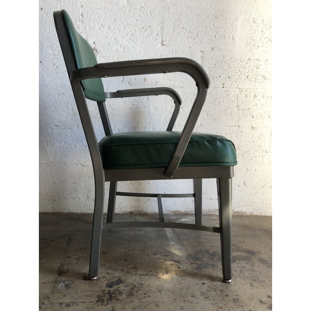 Vintage Office Industrial Chairs by Techfab Furniture Missouri (A Pair) For Sale - Image 10 of 13