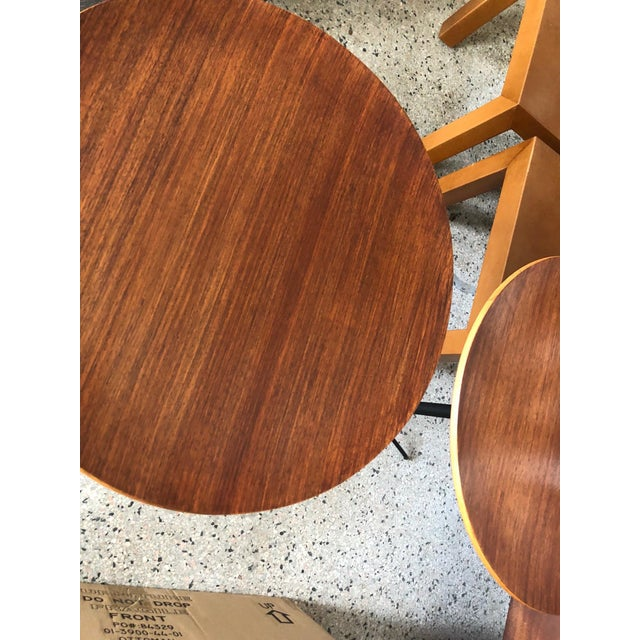 1950s Mid-Century Modern Osvaldo Borsani for Tecno Occasional Tables - a Pair For Sale In Tampa - Image 6 of 9