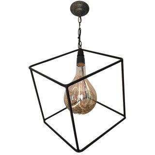 Geometric Pendant Chandelier For Sale
