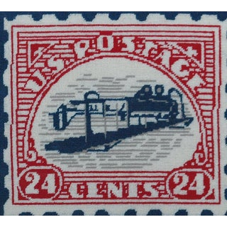 """""""Inverted Jenny"""" Needlepoint Preview"""