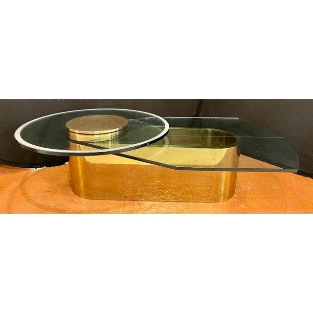 Dakota Jackson Dakota Jackson Self Winding Coffee Table For Sale - Image 4 of 12