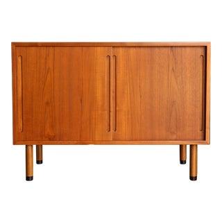 1960s Danish Modern Ry Mobler Hans Wegner Teak Cabinet For Sale