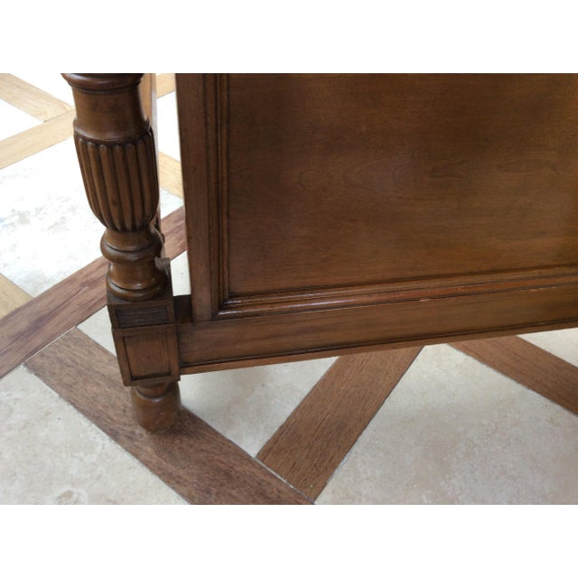 1900 - 1909 19th Century French Empire Walnut Bedframe For Sale - Image 5 of 13