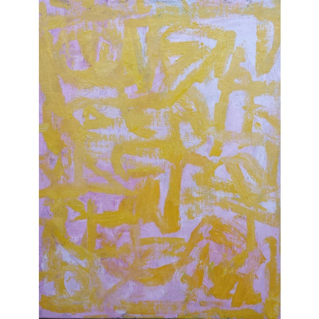 """""""Spark"""" Susie Kate Abstract Painting - Image 1 of 2"""