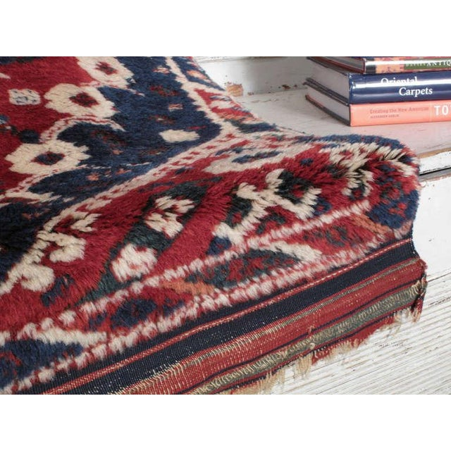 Antique Bergama Rug For Sale - Image 4 of 9