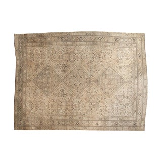 "Vintage Distressed Shiraz Carpet - 7'5"" X 10'"