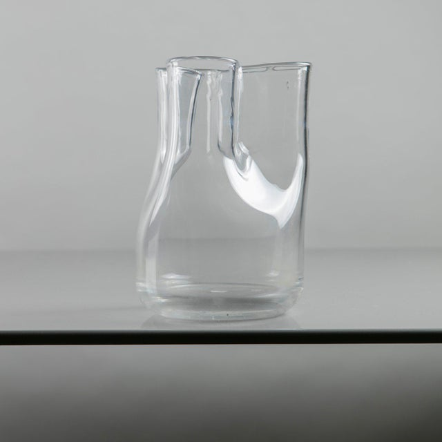 "Danese ""Trinidad"" Carafe by Enzo Mari for Danese For Sale - Image 4 of 11"