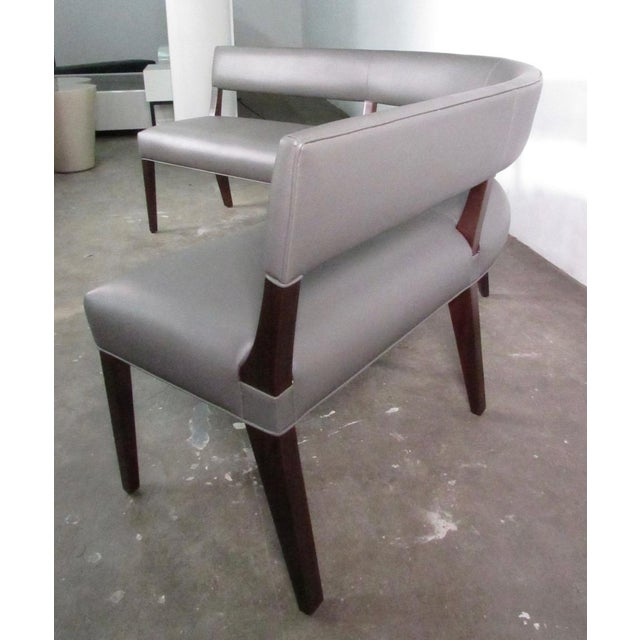 New Custom Made Constantini Curved Bruno Bench For Sale - Image 4 of 11