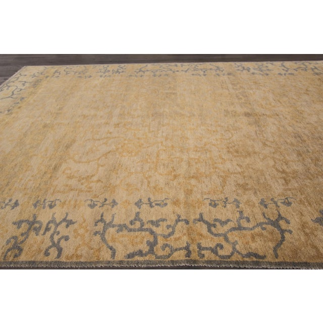 """Textile Early 21st Century Modern Rug - 5'10"""" X 8'11"""" For Sale - Image 7 of 7"""