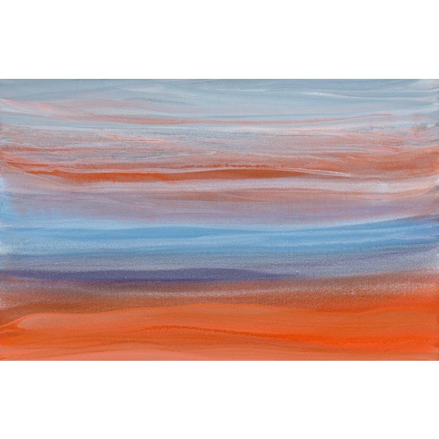 Abstract Teodora Guererra, 'Orangsicle' Painting, 2018 For Sale - Image 3 of 5