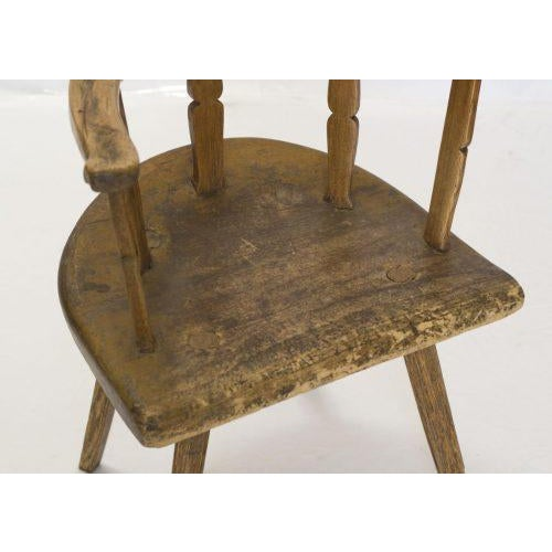 Early 19th Century English Cottage Chair For Sale - Image 4 of 8
