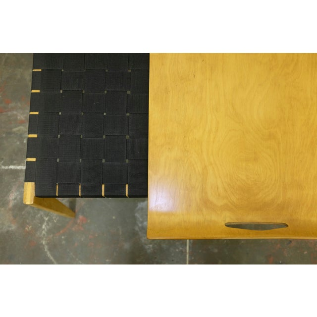 Knoll Abel Sorenson Tray Table and Bench For Sale - Image 4 of 5