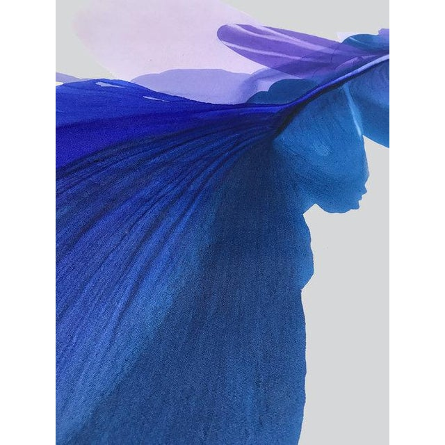 Abstract Marta Spendowska, 'The Blue Bell' Painting, 2018 For Sale - Image 3 of 4