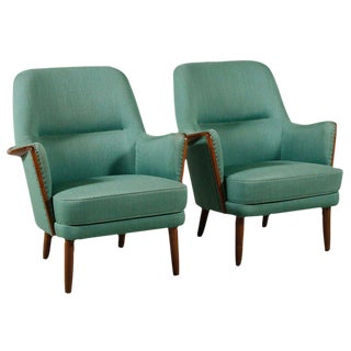 Danish Modern Architect Designed Chairs - A Pair For Sale