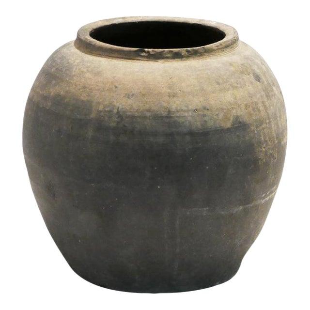 Rustic Black Pot For Sale