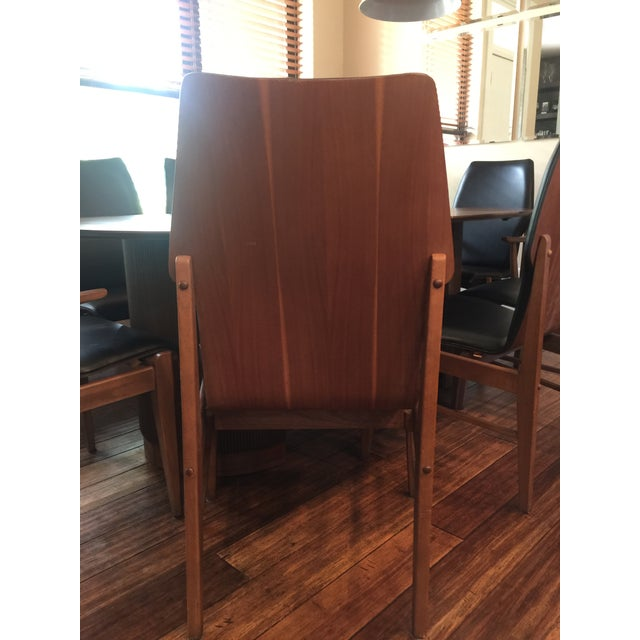 Mid Century Table & Chairs Dining Set - Image 4 of 11