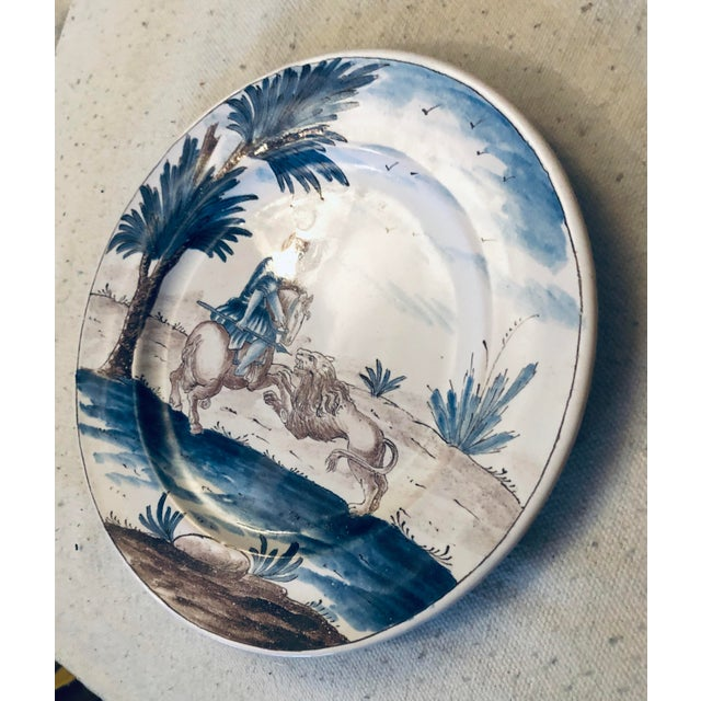 18th Century Niderviller Faience Plate For Sale - Image 4 of 5