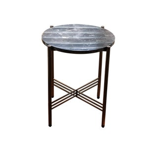 Madison Furniture Marble End Table