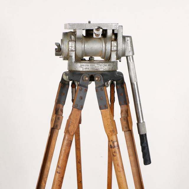 Industrial Motion Picture Tripod - Image 5 of 9