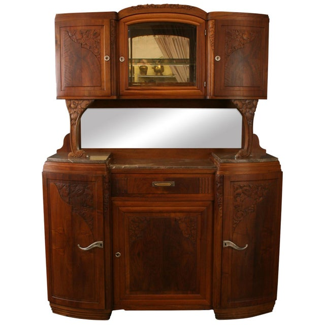 1920 French Art Deco Buffet For Sale